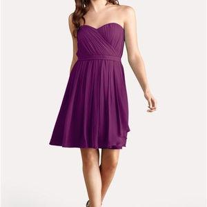DONNA MORGAN L 12 Purple Fuchsia Lindsey dress